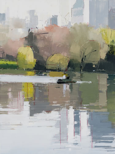 painting, Boaters 2