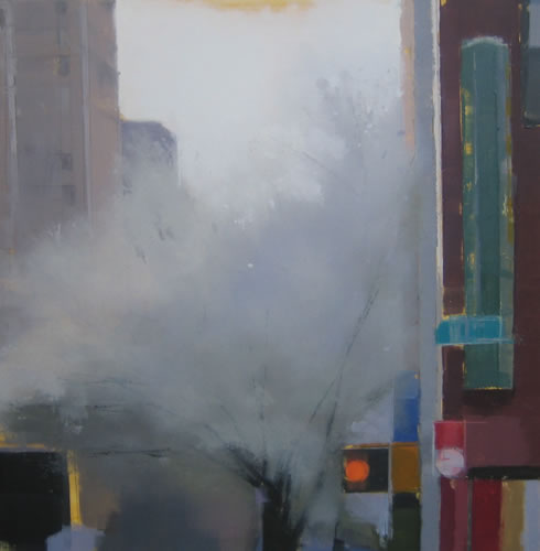painting Chelsea, Early Spring #2