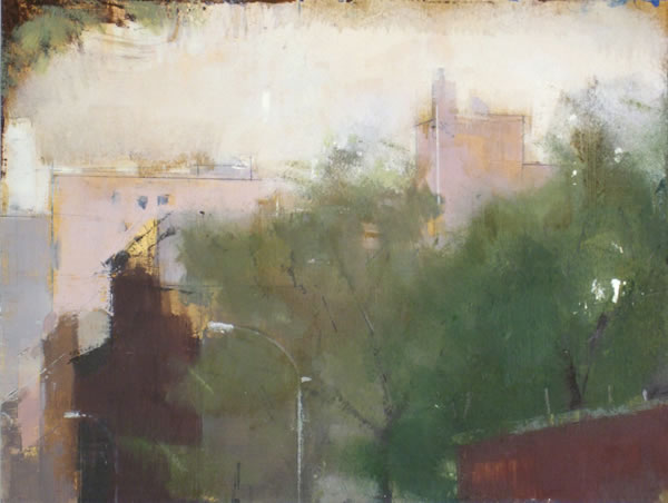 painting Chelsea Rooftops