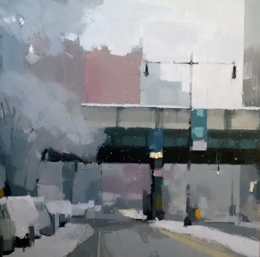 painting First Snow