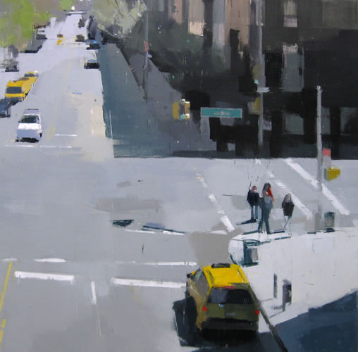 painting From the High Line