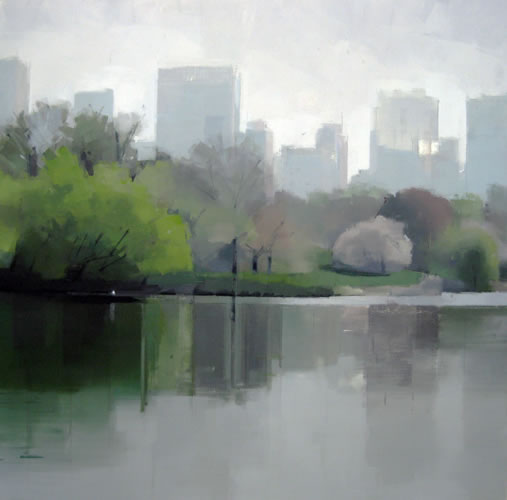painting Reflections of Spring